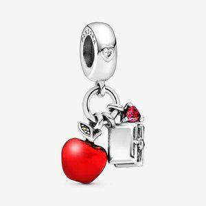 🌸Disney Snow White's Apple and Heart Dangle Charm